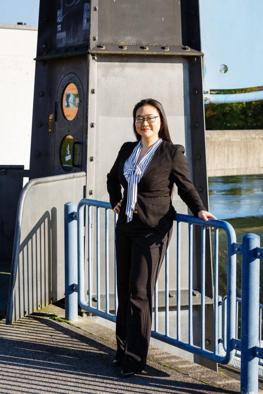 Business Portrait Outdoor Industrie
