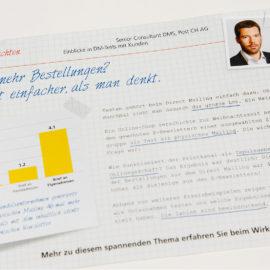 Die Post Marketing Services Broschüre