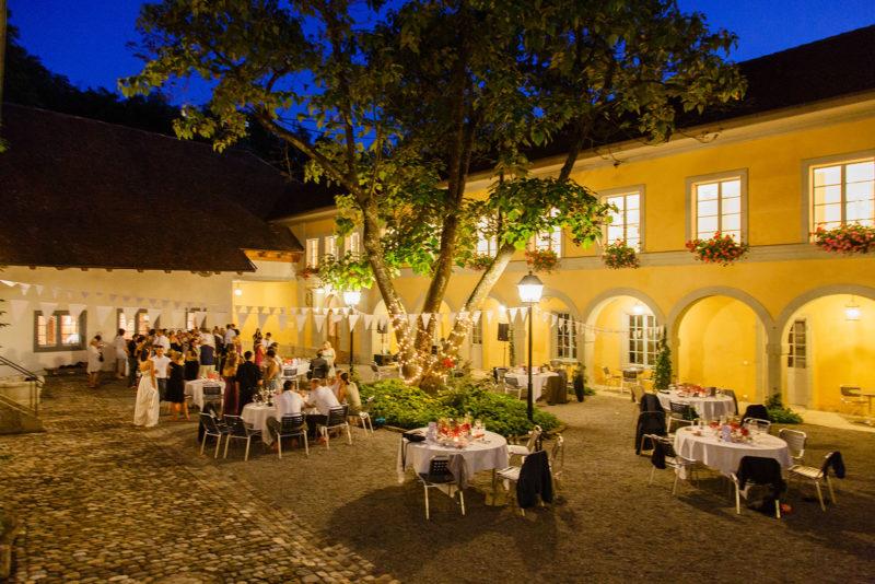 Hochzeitsfest am Abend 05